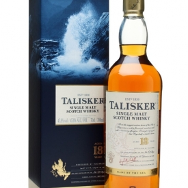 Talisker 18 Year Old Island Single Malt Scotch Whisky