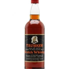 Talisker 1952 / Bot.1970s / Gordon & Macphail Island Whisky