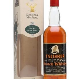 Talisker 1955 / Bot.1980s / Gordon & Macphail Island Whisky