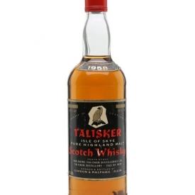 Talisker 1958 / Bot.1980s / Gordon & MacPhail Island Whisky