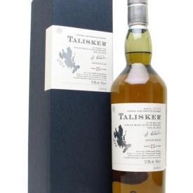 Talisker 25 Year Old / Bot.2004 Island Single Malt Scotch Whisky