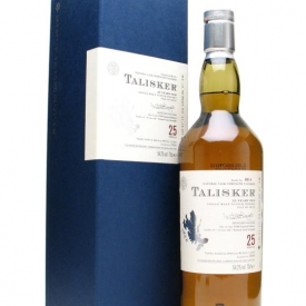 Talisker 25 Year Old / Bot.2008 Island Single Malt Scotch Whisky