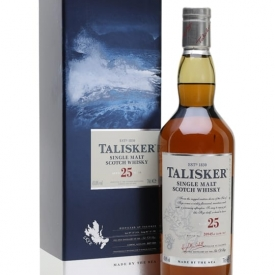 Talisker 25 Year Old / Bot.2017 Island Single Malt Scotch Whisky