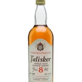 Talisker 8 Year Old / Bot.1970s Island Single Malt Scotch Whisky