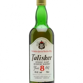 Talisker 8 Year Old / Bot.1980s Island Single Malt Scotch Whisky