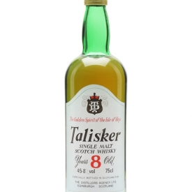 Talisker 8 Year Old / DT Label / Bot.1980s Island Whisky