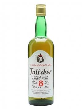 Talisker 8 Year Old / DT Label / Bot.1980s Island Whisky