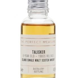 Talisker 8 Year Old Sample / Bot.1980s Island Whisky