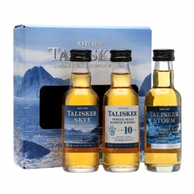 Talisker Miniature Gift Pack / 3x5cl Island Single Malt Scotch Whisky