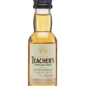 Teacher's Highland Cream Miniature Blended Scotch Whisky