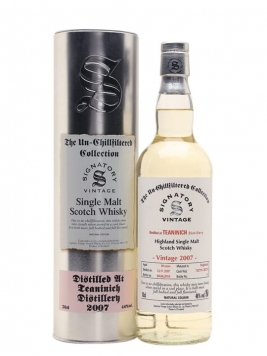 Teaninich 2007 / 10 Year Old / Signatory Highland Whisky