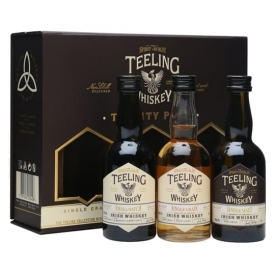 Teeling Whiskey / Trinity Miniature Pack / 3 x 5cl Irish Whiskey