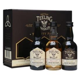 Teeling Whiskey / Trinity Miniature Pack / 3 x 5cl Irish Whiskey