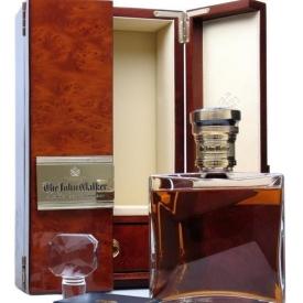 The John Walker / Baccarat Crystal Decanter Blended Scotch Whisky