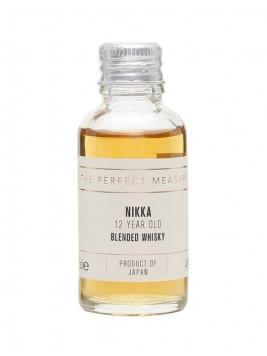 The Nikka 12 Year Old Sample Japanese Blended Whisky