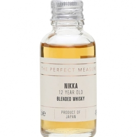 The Nikka 12 Year Old Sample Japanese Blended Whisky