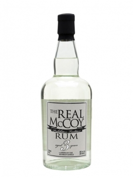 The Real McCoy 3 Year Old White Rum / Bourbon Barrels