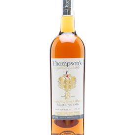 Thompson's Arran 1996 / 18 Years Old / Sauternes Cask 1835 Island Whisky