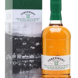 Tobermory 12 Year Old Island Single Malt Scotch Whisky