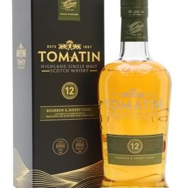 Tomatin 12 Year Old / Bourbon & Sherry Casks Highland Whisky