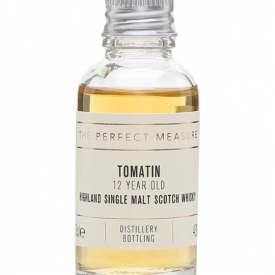 Tomatin 12 Year Old Sample / Bourbon & Sherry Casks Highland Whisky