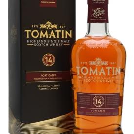 Tomatin 14 Year Old / Tawny Port Finish Highland Whisky
