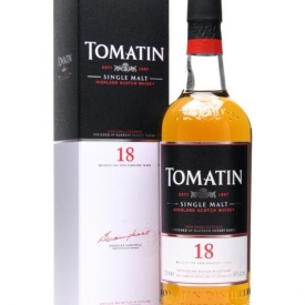 Tomatin 18 Year Old Highland Single Malt Scotch Whisky