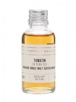 Tomatin 18 Year Old Sample / Oloroso Sherry Finish Highland Whisky