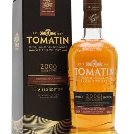 Tomatin 2006 / 12 Year Old / Amontilado Finish Highland Whisky