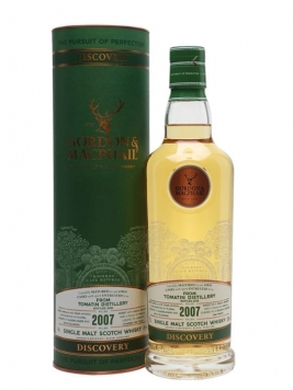 Tomatin 2007 / Bourbon Cask / Gordon & MacPhail Discovery Highland Whisky