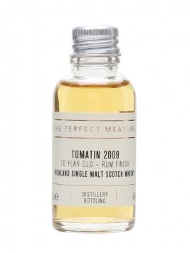 Tomatin 2009 Sample / 10 Year Old / Rum Finish Highland Whisky