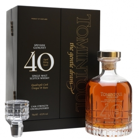 Tomintoul 40 Year Old / Quadruple Cask Speyside Whisky