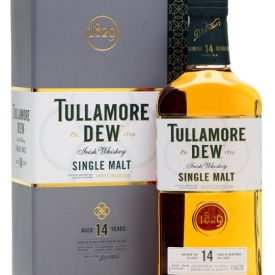 Tullamore Dew 14 Year Old Single Malt Irish Whiskey