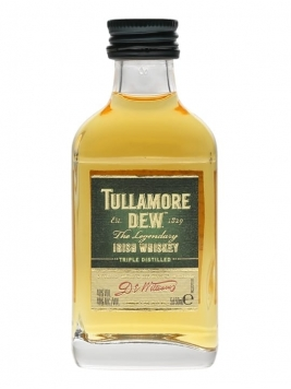 Tullamore Dew Miniature Blended Irish Whisky