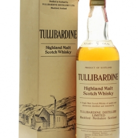 Tullibardine 5 Year Old / Bot.1980s Highland Single Malt Scotch Whisky