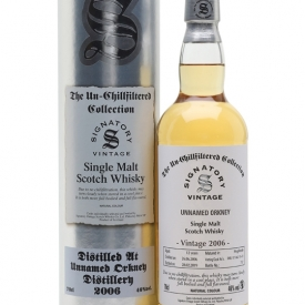 Unnamed Orkney 2006 / 12 Year Old / Signatory Island Whisky