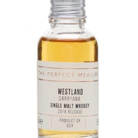 Westland Garryana Sample / 2019 Release American Single Malt Whiskey