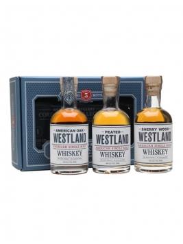 Westland Gift Set / 3x20cl American Single Malt Whiskey