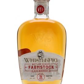 WhistlePig Farmstock Crop 001 Straight Rye Whiskey