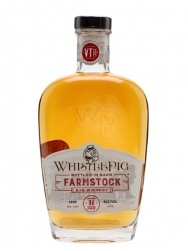 WhistlePig Farmstock Crop 001 Straight Rye Whiskey
