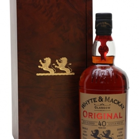 Whyte & Mackay 40 Year Old Blended Scotch Whisky