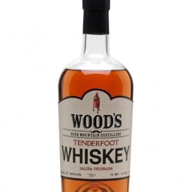 Wood's High Mountain Tenderfoot Whiskey Amercian Single Malt Whiskey